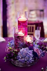 reception centerpieces best 25 purple centerpiece ideas on unique