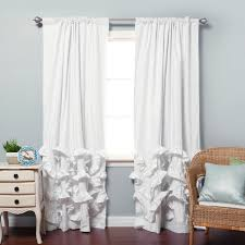 Black And White Blackout Curtains Black And White Bedroom Curtains White Blackout Curtains Grommet