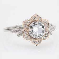 flower engagement rings best 25 flower diamond rings ideas on flower wedding