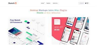 best websites to download free sketch app resources