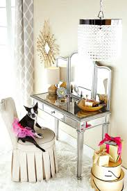 Glass Vanity Table With Mirror Makeup Table Without Mirror U2013 Vinofestdc Com