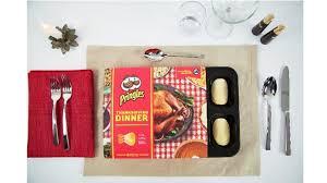 pringles pops the lid on thanksgiving dinner flavor