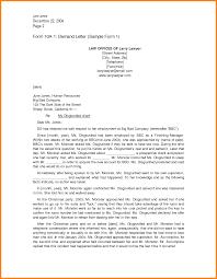 Formal Complaint Letter Format Sample by 7 Legal Demand Letter Sample Ledger Paper