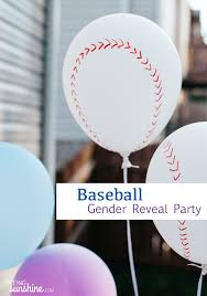 gender reveal party baseball gender reveal party ideas seeing