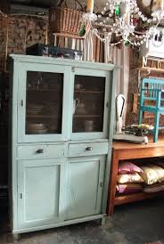 Steven Sclaroff by The Turquoise Iris Vintage Modern Hand Painted Furniture Teal