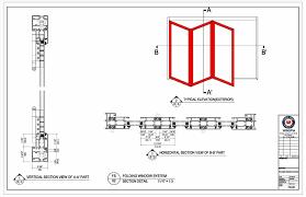download folded folding doors drawing door dwg u cad block