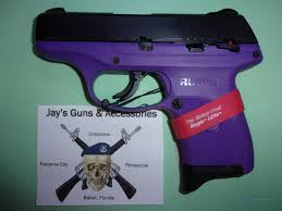 ruger lc9s pro w purple frame for sale