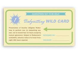 babysitting coupon template professional baby sitting coupon