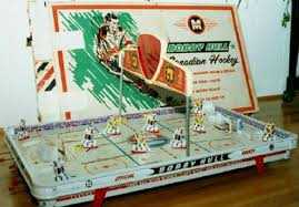 Table Top Hockey Game 1966 Bobby Hull Canadian Hockey Table Hockey Game Toys Gone By