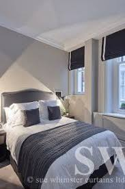 Roller Blinds Bedroom by Roman Blind Bedroom I Like It Hung This High For The Home