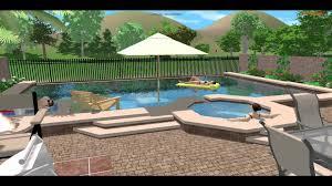 3d landscape and pool design las vegas youtube