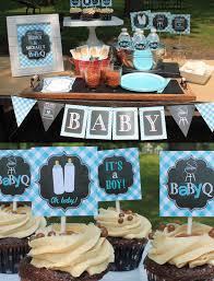 boy baby shower decorations boy baby q decorations bbq baby shower couples baby shower