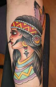 20 cool native american tattoos
