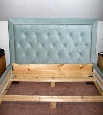 Upholstered Headboards And Bed Frames Tufted Button Headboard U2013 Senalka Com