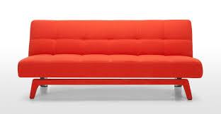 Click Clack Sofa Beds Uk by Yoko Sofa Bed In Saffron Orange Made Com