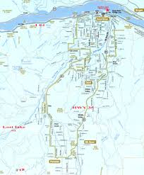 Google Map Of Oregon by Maps Lost Lake Oregon