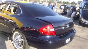 bentley swangas buick lacrosse on swngas rollers only carshow 2013 youtube