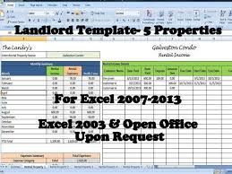 Landlord Spreadsheet 12 Best Rental Property Management Templates Images On