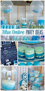 Boy Birthday Decorations Baby Blue Birthday Decorations Image Inspiration Of Cake And