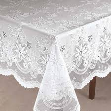 vinyl lace tablecloth zoom zoom table clothes