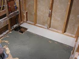bathroom remodeling tips choosing a subfloor material paperblog