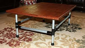 Pipe Coffee Table by Maker Pipe Coffee Table 9 Steps With Pictures