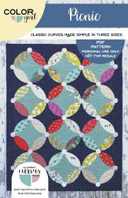 picnic quilt pattern color quilts by sharon mcconnell