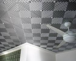 Tin Ceiling Panels by Faux Tin Ceiling Tiles For 99 Cents Per Panel Lowes Modern