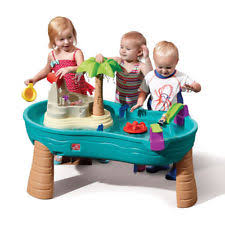 step 2 rain showers splash pond water table rain showers splash pond water table step2 kids childrens outdoor