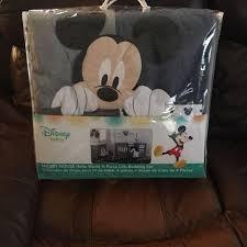 Denim Crib Bedding Find More Disney Baby Mickey Mouse Hello World 4 Crib