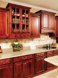 paint colors for kitchens with dark wood cabinets sofi