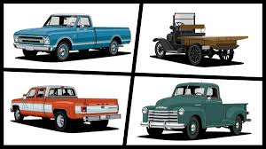 first chevy ever made chevrolet looks back at 10 of its most iconic pickup truck designs