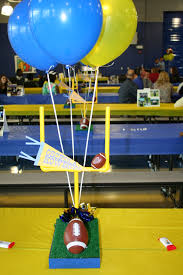 Football Banquet Centerpiece Ideas by Ohs Football Centerpieces Crafts I Have Made Pinterest