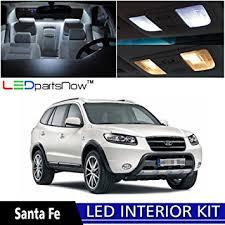 Santa Fe 2013 Interior Amazon Com Ledpartsnow 2013 2016 Hyundai Santa Fe Led Interior