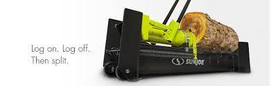 black friday log splitter amazon com sun joe lj10m logger joe 10 ton hydraulic log