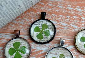 diy necklace pendant images Jennuine by rook no 17 st patrick 39 s day craft lucky clover JPG