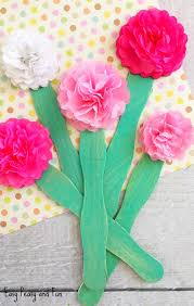 tissue paper flowers tissue paper flower craft easy peasy and