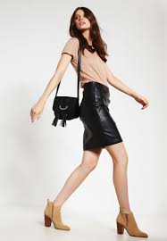 2nd day women clothing 2nd day cecilia leather skirt black 2nd day