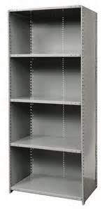 Heavy Duty Steel Shelving by 5 Shelf Steel Shelving Complete Units Heavy Duty Closed