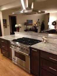 kitchen islands with stove denver kitchen remodel kitchens denver