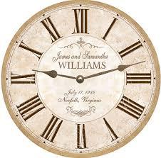 personalized anniversary clock anniversary clock personalized anniversary clock