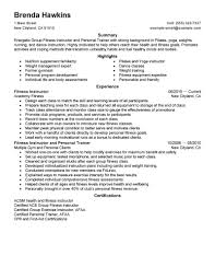Best Resume Format For Uae by Best Fitness And Personal Trainer Resume Example Livecareer
