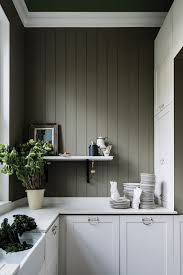 how to paint cabinets with farrow and treron
