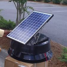 solar attic fan poplar network