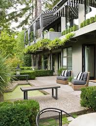 outdoor living room traditional home