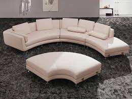 Round Sleeper Bed Sofa Modern Half Circle White Sofa With Sleeper Part Of Furniture