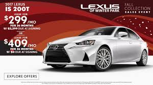 lexus is 250 tampa fl lexus of winter park lexus sales and service serving kissimmee