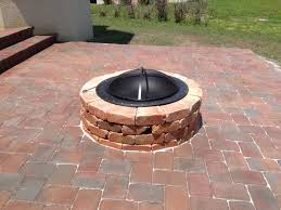 Red Brick Patio Pavers by Fire Pits Design Awesome Lowes Red Brick Patio Pavers Stepping
