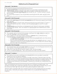 paragraph essay outline essay writing outline essay layout format