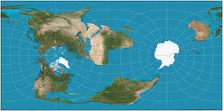 Map Of Equator In South America by If The Prime Meridian Became Our Equator Aka Cassini Projection